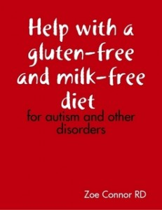 Help with a gluten-free and milk-free diet - for autism and other disorders