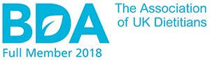 British Dietetic Association Full Member 2017
